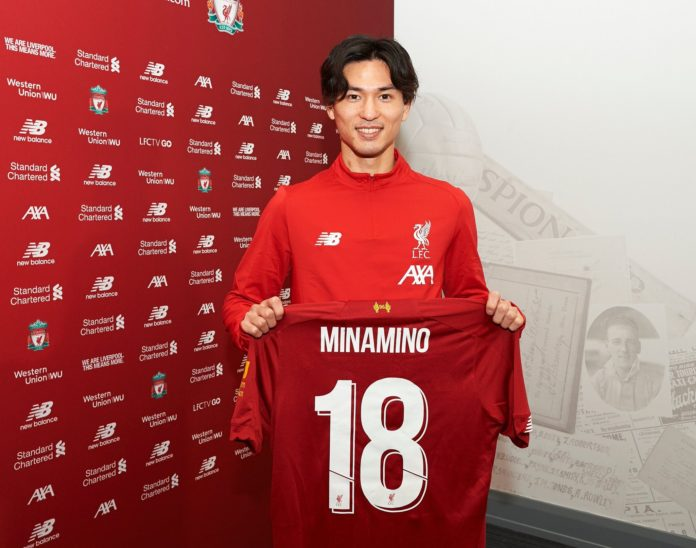 Japanese star Minamino Officially Becomes Part Of Liverpool-Sportrazzi