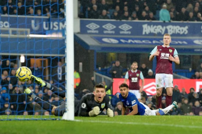 Carlo Ancelotti leads Everton to a 1-0 win against Burnley in his first game at Goodison Park as new Everton manager