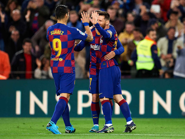 Messi Scores 50th 2019 Goal As Barcelona Beat Alaves 4-1 - Sportrazzi