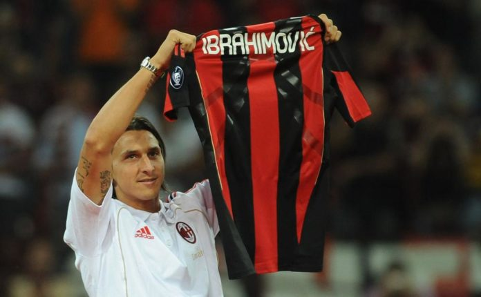 Zlatan Ibrahimovic signs 6 month with AC Milan with hopes that he will be able to rescue them from their recent misfortunes
