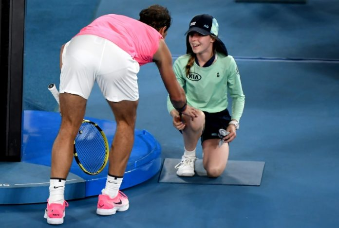 Rafael Nadal's New Friend, Brief Stories From The Australian Open On Friday - SportRazzi
