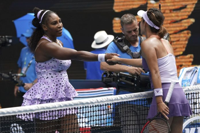 Wang Qiang brought Serena Williams 24th Grand Slam Title hoped to an end as she defeated the 8th seeded Williams at the Australian Open at Melbourne Park.