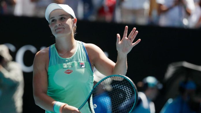 Ashleigh Barty is through to the Australian Open semi-finals after beating Petra Kvitova 7-6 (8-6) 6-2 in Melbourne. The world number one is looking to bring the Australian Open title back to the host country since Chris O'Neil in 1978.