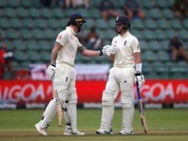 Ben Stokes and Ollie Pope both managed to score centuries as they pushed England forward to 440-8 against South Africa at the end of day 2 of the third Test in the series.