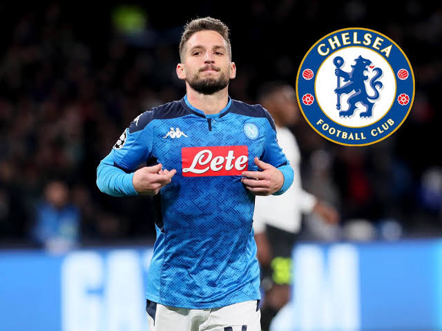 Chelsea have made a bid for Napoli forward Dries Mertens and are waiting for the club to respond before the transfer window deadline at 11 pm on Friday.