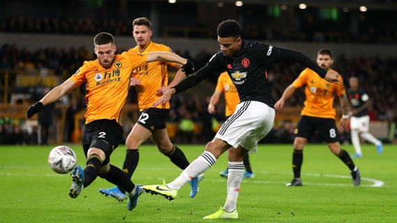 Manchester United face Wolves at Stamford Bridge for the replay of their FA Cup round 3 match-up following their 0-0 draw on 4 January.