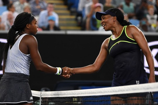 Venus Williams hopes of another Grand Slam title at the Australian Open were shattered by Coco Gauff on Margret Court, who took her on a trip down memory lane and beat her in straight sets in the first round.