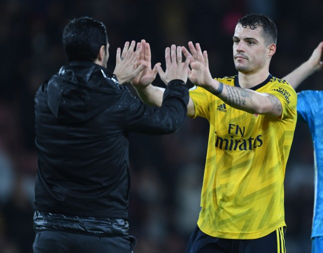 Mikel Arteta has managed to convince Ganit Xhaka to stay at the Emirates. The former Arsenal captain had been linked with a move to Hertha Berlin in the Bundesliga.