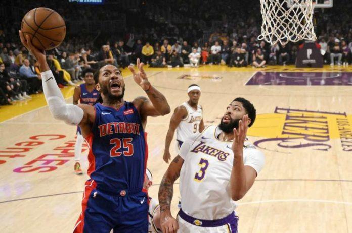 Western Conference Leaders  LA Lakers continue with a 5 game winning streak after they beat Detroit Pistons 106-99. Anthony Davis and LeBron James led the Lakers as they continued their domination on the Western Conference.