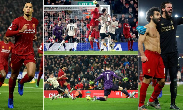 Liverpool push further ahead in Premier League with 64 points as they continue their undefeated campaign with a 2-0 win over Man United. Ole Gunnar Solskjaer and his squad were brought down thanks to Salah and Virgil van Dijk who Liverpool to Victory.