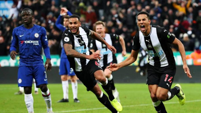 Newcastle Beats Chelsea 1-0 To Dent Frank Lampard's Top-Four Hope - SportRazzi