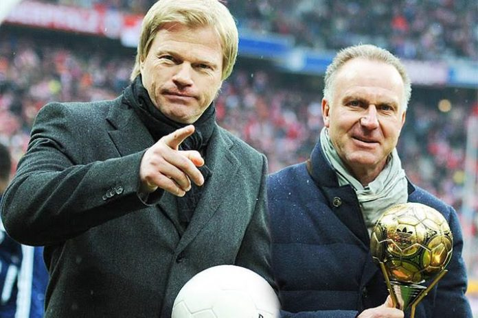 Oliver Kahn was appointed to Bundesliga side FC Bayern München AG Executive Board and will take over as CEO from Karl-Heinz Rummenigge in 2022 when the latter's current contract expires