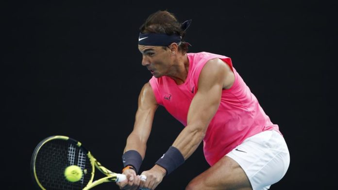 Rafael Nadal is through to the Australian Open 2020 quarter-finals after having defeated Nick Kyrgios at Melbourne Park after 4 nail bitting sets winning 6-3 3-6 7-6(8-6) 7-6(7-4).