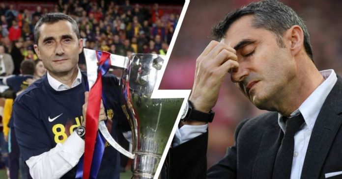 With Ernesto Valverde at the helm, Barca won La Liga for 2 consecutive years from 2017-19 as well as the 2017-18 Copa del Rey and 2018 Spanish Super Cup.