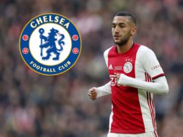 Premier League side Chelsea are in the final stages of sealing a deal with Ajax that would see winger Hakim Ziyech joining the England Club in the summer.