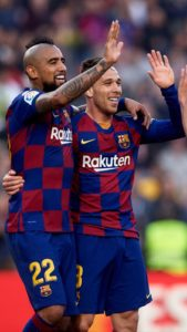 Napoli will host Barcelona in today's UEFA Champions League first-leg tie game between the two sides at San Paolo Stadium.