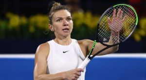 Romanian Simona Halep will face  Elena Rybakina from Kazakh in the finals of the Dubai Championship on Saturday after beating Jennifer Brady from the US.