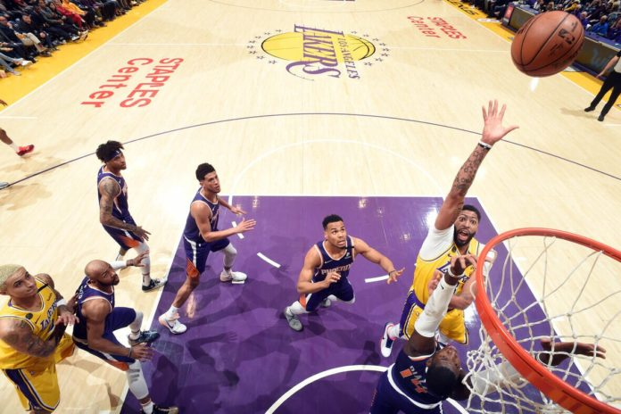 Western Conference leaders LA Lakers totally dominated in their game against Phoenix Suns, beating them 125-100 with Lakers Rajon Rondo scoring his season-best at the Staples Center.