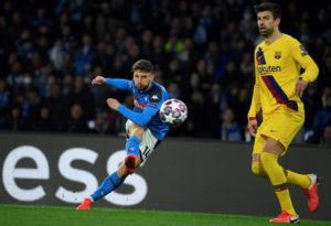 Barcelona were caught off guard by Napoli as the two clubs met each other in their first leg UEFA Champions League play-off in the Round of 16 stage.