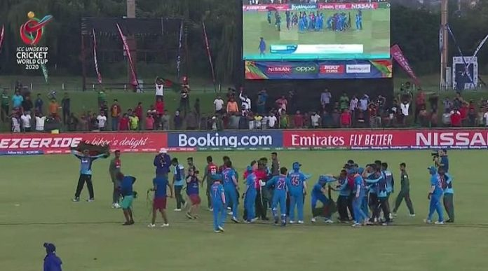 The Bangladesh U19 cricket team pulled off an amazing victory beating India by 3 wickets at the World Cup final in South Africa on Sunday.