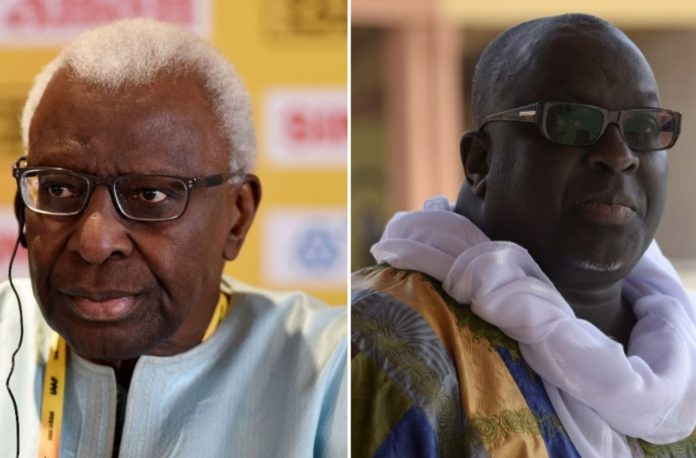 Former IAAF boss Lamine Diack and his son Papa Massata Diack have both responded to allegations that they were involved in the Russian doping scandal.