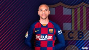 Barcelona confirmed the signing of Martin Braithwaite on Thursday from Leganes thanks to the emergency signing green light given by the Spanish FA.
