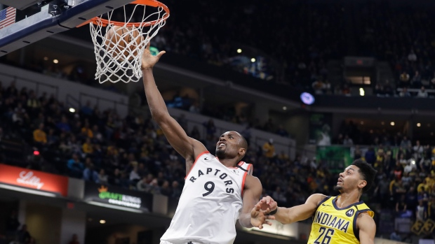 NBA Champions Toronto Raptors beat Indiana Pacers 115-106 and now extend their winning streak to 14 games beating the Pacers for the second time in just 3 days.