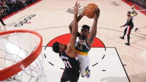 Rookie Zion Williamson led the New Orleans Pelicans to a 128-115 win over Portland Trail Blazers in Friday's NBA basketball game.