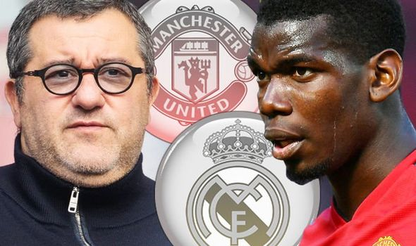 Mino Raiola seems to still be trying to push Manchester United striker Paul Pogba towards Real Madrid. Manager Ole Gunnar Solskjaer previously warned Raiola that Pogba belonged to Manchester United but the message seems to have landed on deaf ears.