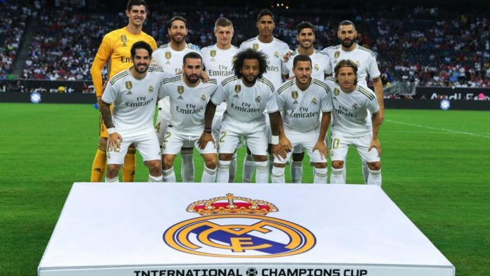 The UEFA Champions League 2nd leg match between Manchester City and Real Madrid has been suspended as Real Madrid players have been quarantined after possibly coming into contact with the Coronavirus.