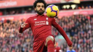 With a new Premier League record in his sights, Mohammed Salah is expected to make his starting lineup for Liverpool in Saturday's game against Bournemouth.