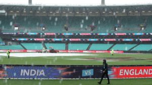 India are through to the finals of the T20 World cup after their semi-final match against England was called off due to rain. England had high hopes of finally winning the tournament since it last did so in 2009 when the tournament first began.