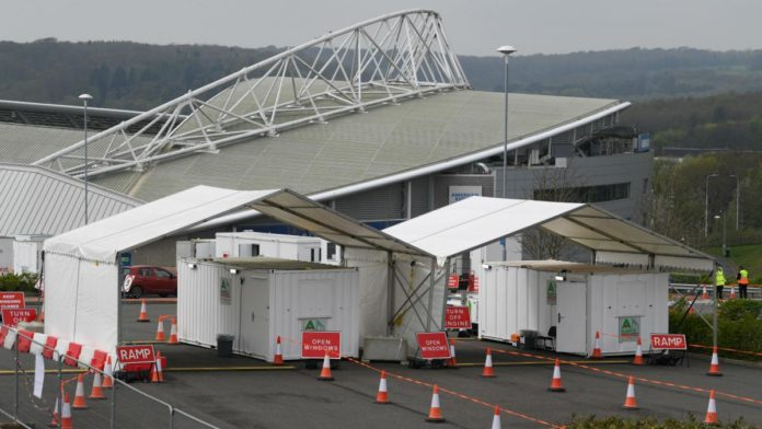 Due to COVID-19, Brighton & Hove Albion's Amex Stadium has been converted into a drive-through testing centre to assist the National Health Service (NHS), the Premier League club said on Sunday.