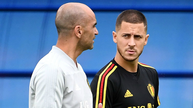 Real Madrid coach, Robert Martinez said that Eden Hazard has recovered from the ankle surgery but without confirmation of when the player will be set to play.
