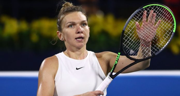 """WTA world number two Simona Halep along with many other professional tennis players who are preparing for """"For the worst-case scenario"""
