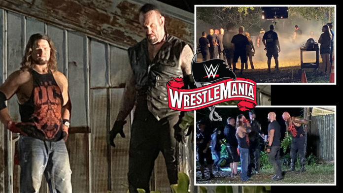 The 2-day Wrestlemania 36 was always expected to be unique after being relocated from Tampa to Orlando Florida due to the COVID-19 pandemic.