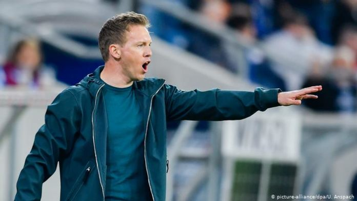 RB Leipzig manager Julian Nagelsmann said that the club will continue un their pursuit of their best ever Bundesliga points tally.