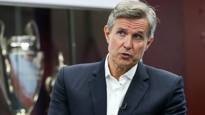 Aston Villa chief executive Christian Purslow said Premier League is determined to complete the season, but 'nowhere near' to finding a formula to do so.