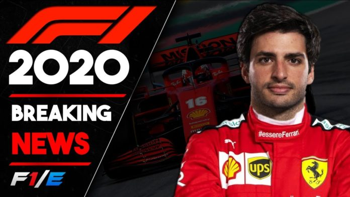 Formula 1 racing team Ferrari, has officially announced the Carlos Sainz will be replacing four-time world champion Sebastian Vettel who will be leaving the team when his contract expires.