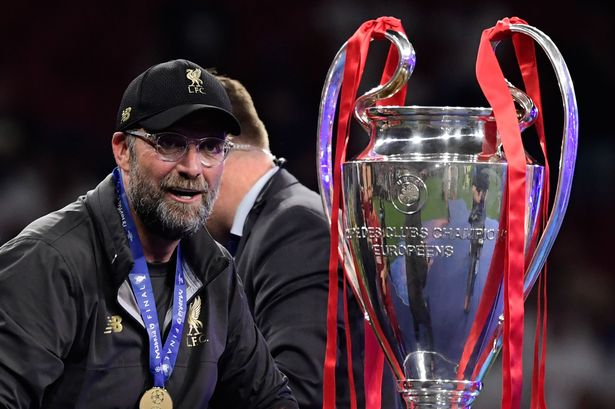 Liverpool Jurgen Klopp dedicated their first Premier League title in 30 years to fans and also to recognise former players and managers in the building.