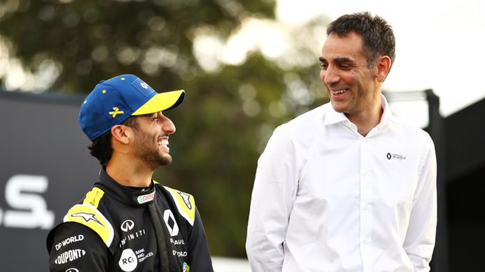 Renault will work as closely as ever with Daniel Ricciardo as he decided to join Formula One rivals McLaren at the end of the year, Cyril Abiteboul said.