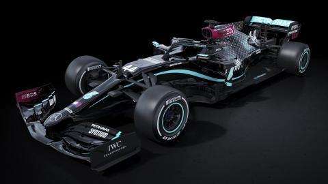 Formula One Mercedes unveiled black-liveried cars for the 2020 season as part of a pledge to improve diversity within the team and the world of motorsport.