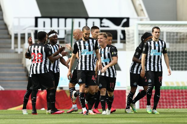 Britain's sports minister said Saudi-backed consortium's proposed takeover of Premier League Newcastle United is football matter.