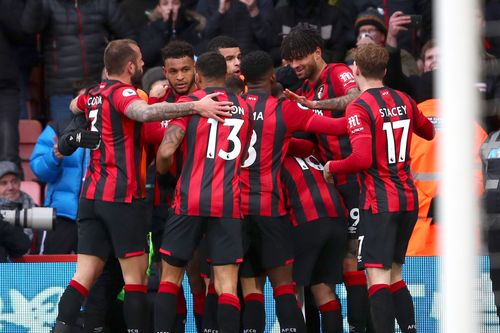 Junior Stanislas scored a fine solo goal as Bournemouth fought gallantly but end their five-year stay in the Premier League with a victory over Everton.