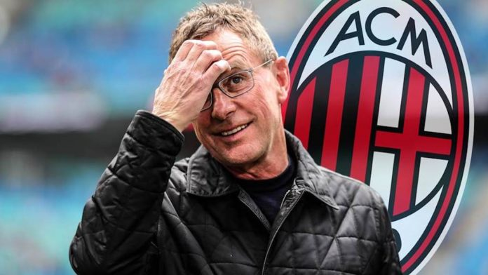 AC Milan have abandoned plans to hire former RB Leipzig and Schalke 04 coach Ralf Rangnick, German magazine Kicker said on its website on Tuesday.