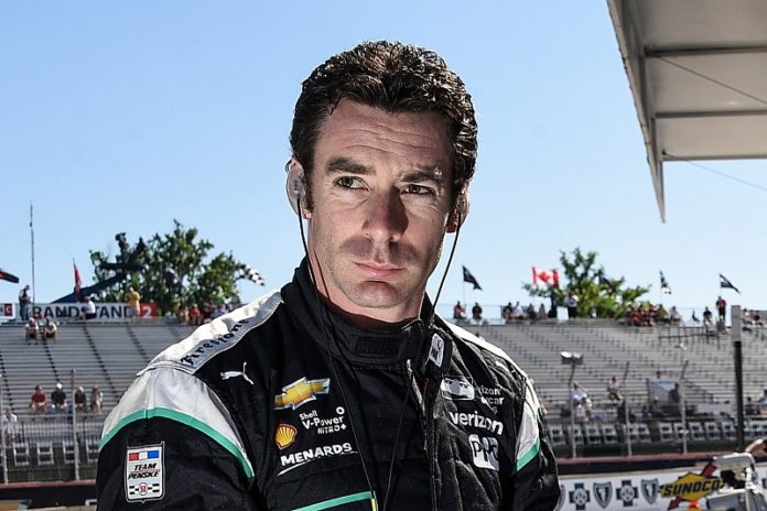 Simon Pagenaud stormed from the last spot on the starting grid to victory on Friday in the first race of IndyCar's weekend double-header at Iowa Speedway.