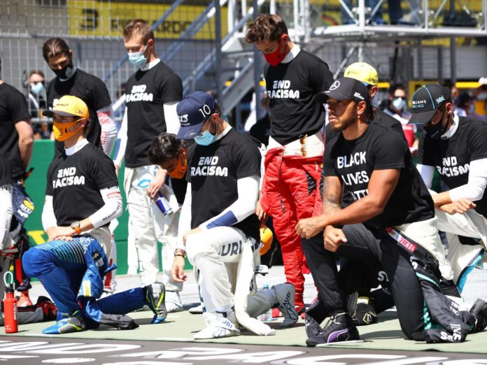 Formula One Lewis Hamilton said the fight against racism is