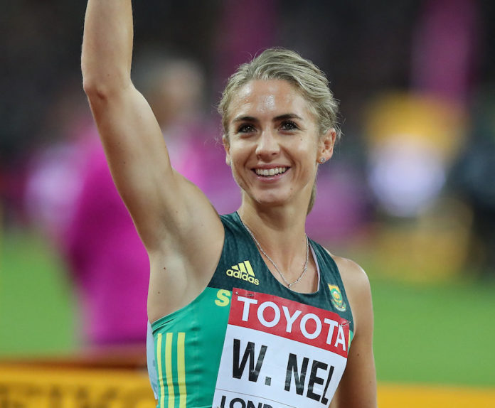 Athletics, the Tuks 400m-hurdler , Wenda Nel, is back on the track training after she had recovered from the Covid-19 virus.