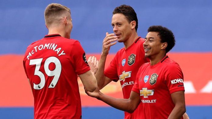 Manchester United secured a place in the Champions League at the expense of Leicester City with victory at King Power Stadium.