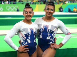 "British Olympians Becky and Ellie Downie say abusive behaviour in gymnastics training became ""ingrained"" and ""completely normalised""."
